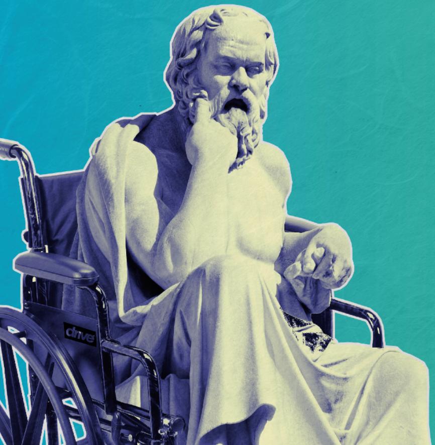 Socrate en chaise roulantew²
